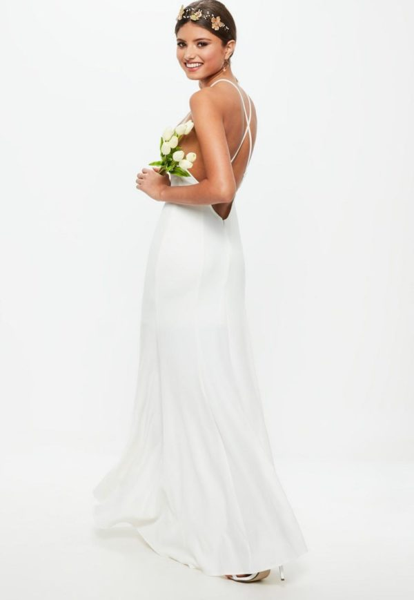 платья на выпускной: Греческое белое