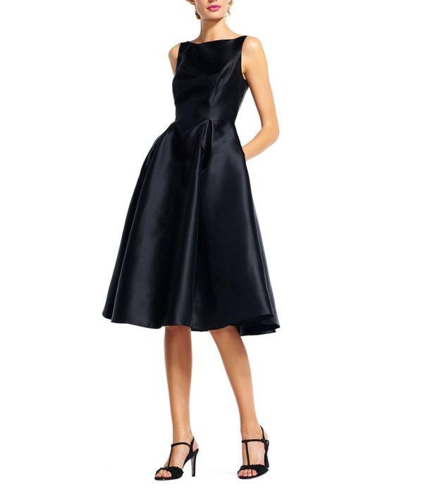выпускное платье: Коктейльное черное