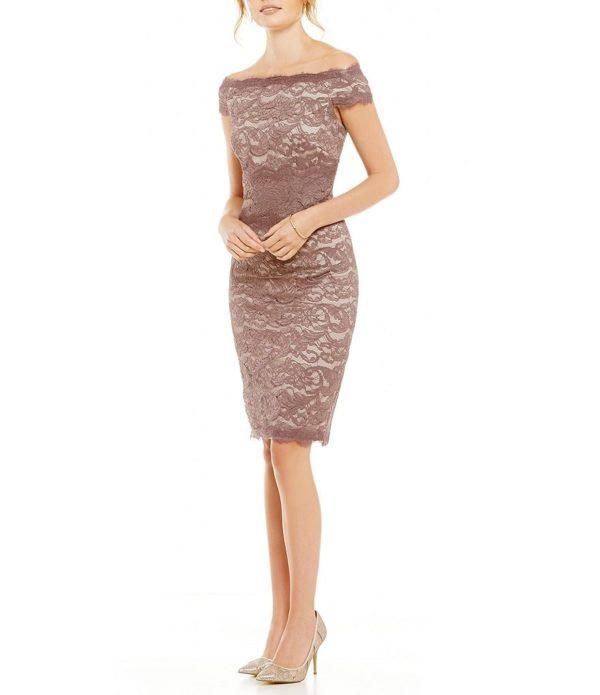 выпускное платье: Коктейльное коричневое