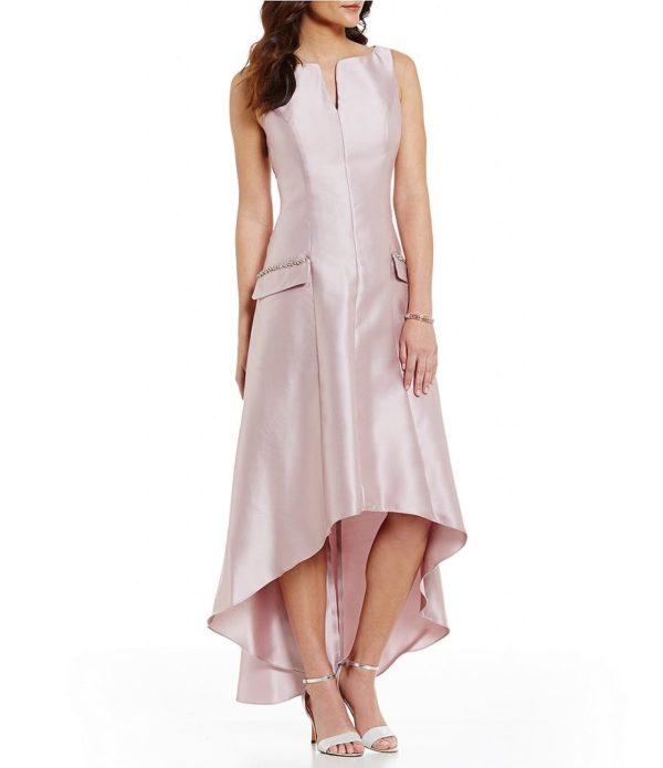 выпускное платье: Коктейльное светло-сиреневое