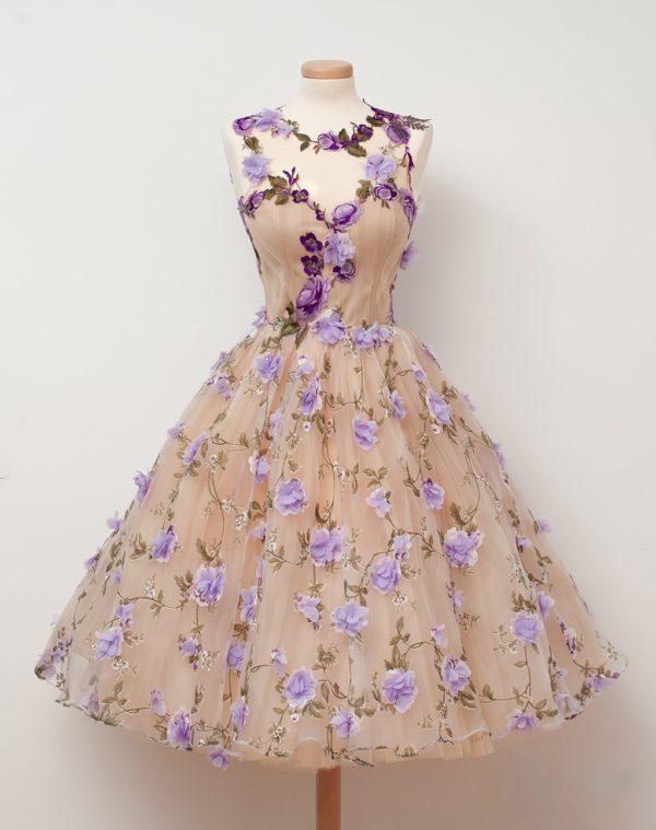 выпускное платье: с пышной юбкой
