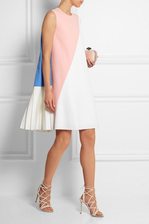 выпускное платье: плиссе