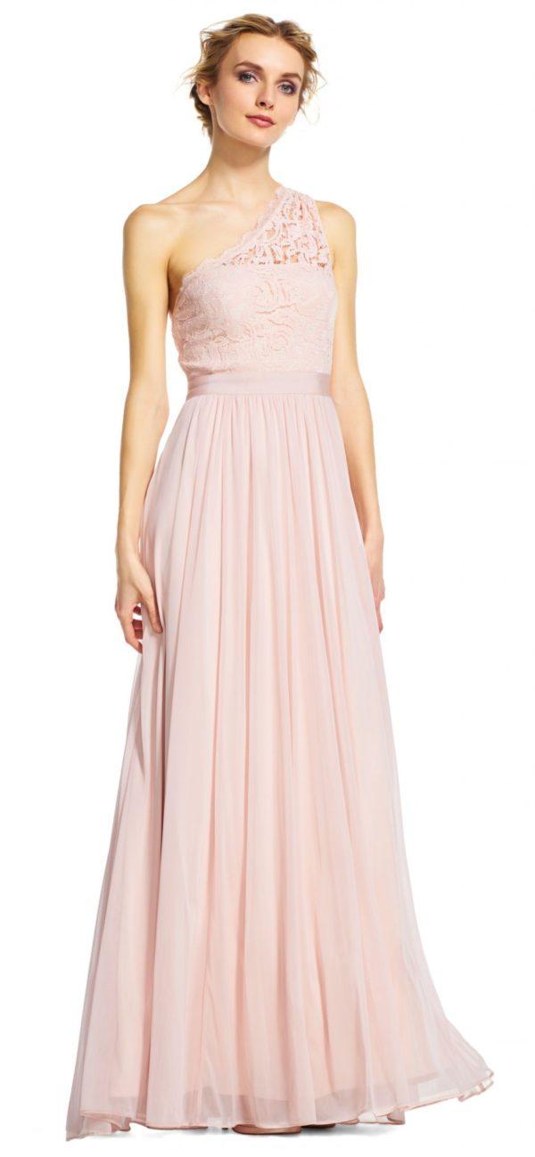 выпускное платье 9 класса: Длинное розовое