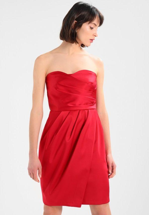 Платья на выпускной 9 класс: Короткое красное