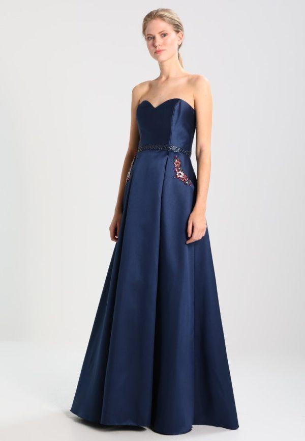 выпускное платье 9 класса: Длинное синее