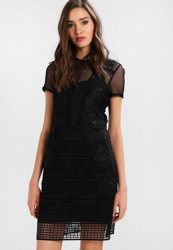 выпускное платье 9 класса: Прозрачное черное