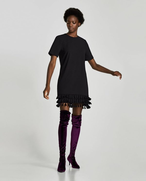 платья на выпускной 2019: черное