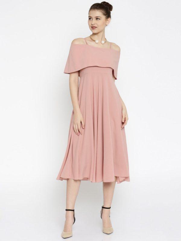 платья на выпускной 2019: розовое