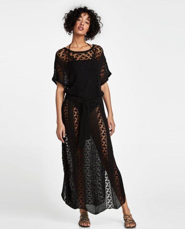 платья на выпускной 2019: черное длинное