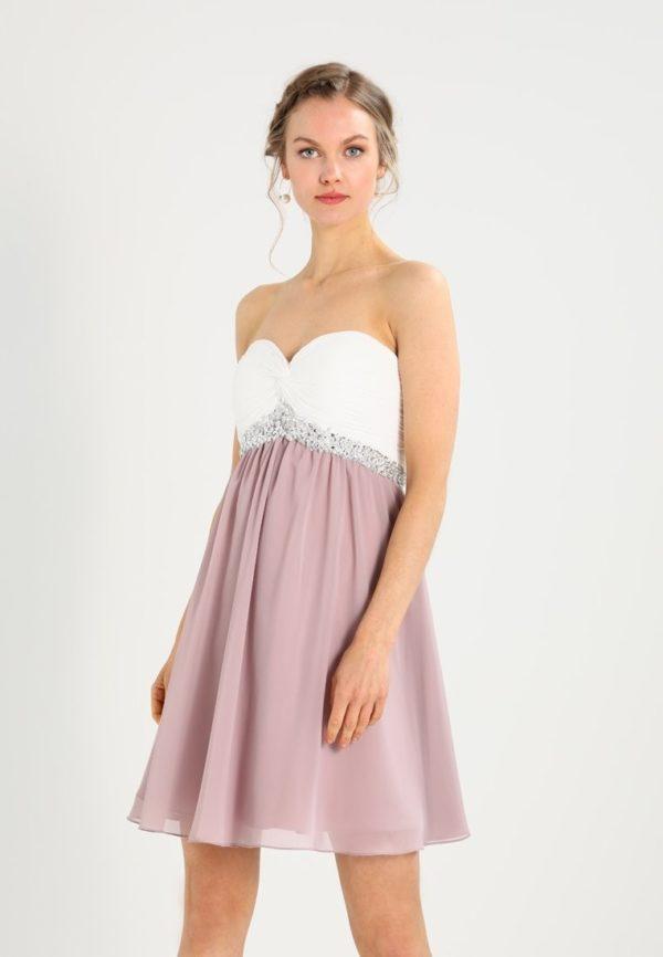 выпускное платье: Коктейльное в двух цветах