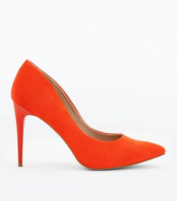 Модные женские туфли 2019-2020 года: оранжевые