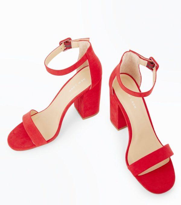 Модные женские туфли 2019-2020 года: красные