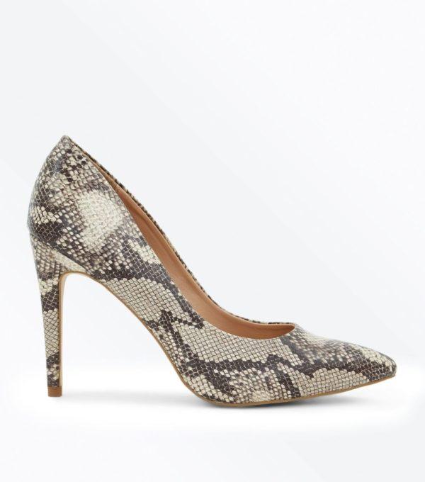 Модные женские туфли 2019-2020: Змеиные