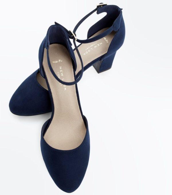 женские туфли: Синие