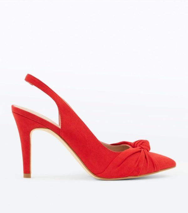 женские туфли: Красные