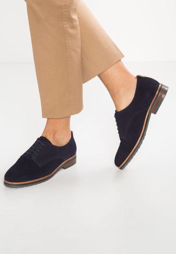 синяя обувь без каблука