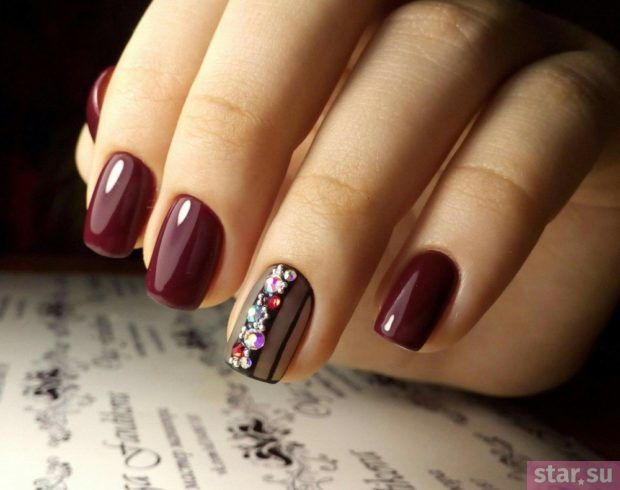 Модный весенний маникюр 2018 на короткие ногти