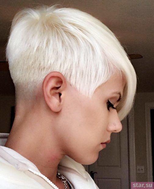 стрижка пикси на короткие волосы после 40 лет