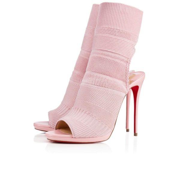 туфли лабутены: розовые