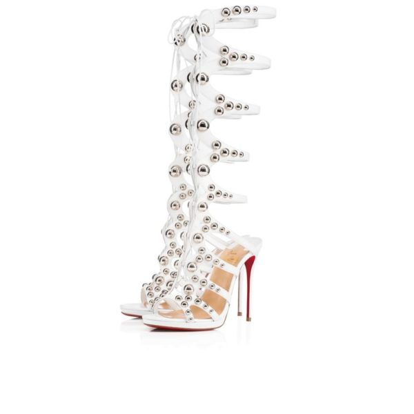 туфли лабутены: белые