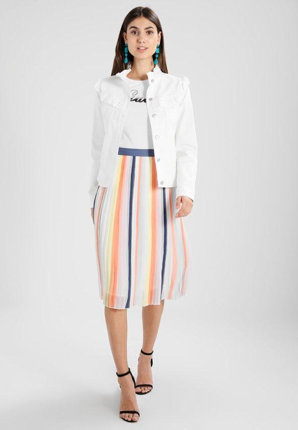 Летняя цветная юбка плисе 2019 года