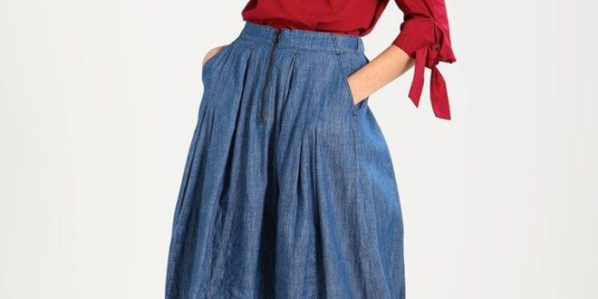 28facf6581bc Шок! Летние юбки 2019 года: модные тенденции, 205 фото, новинки