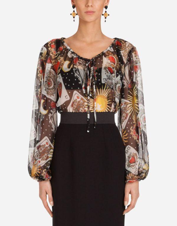 цветная блузка
