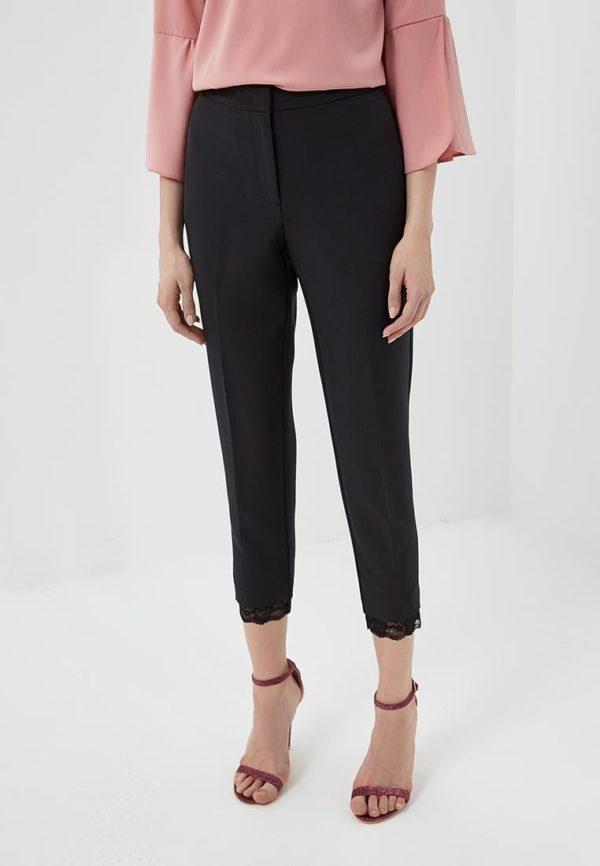 черные брюки узкие