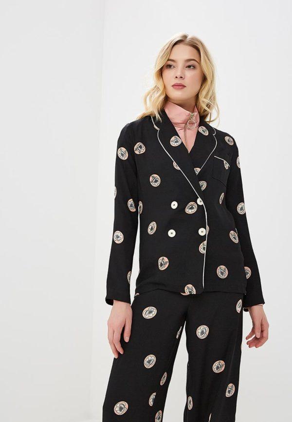 Мода весна лето 2020 для женщин за 30: черный костюм
