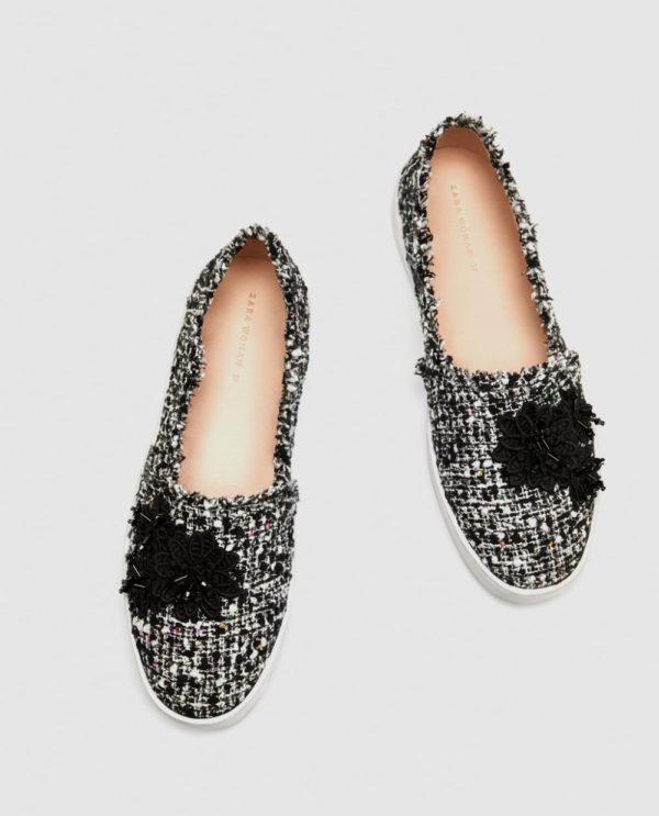 женская обувь весна лето: серые слипоны