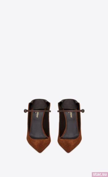 коричневые туфли 2018
