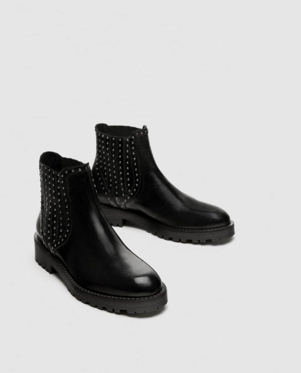 черные на каблуке