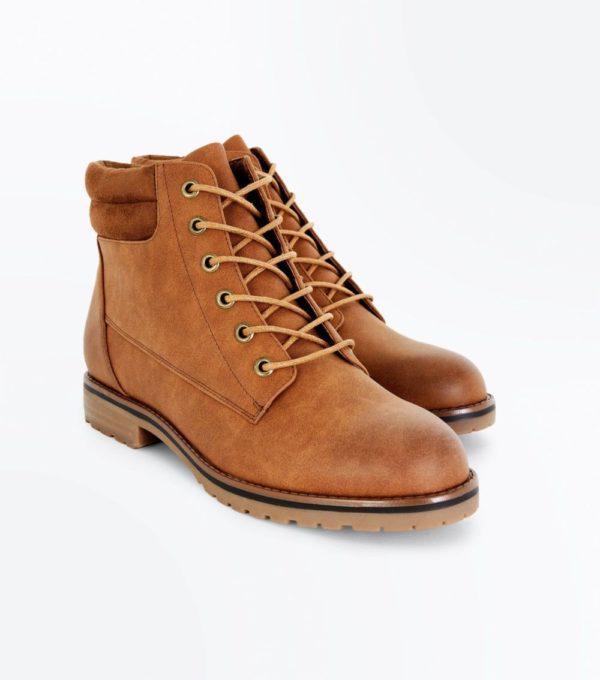 коричневые со шнуровкой