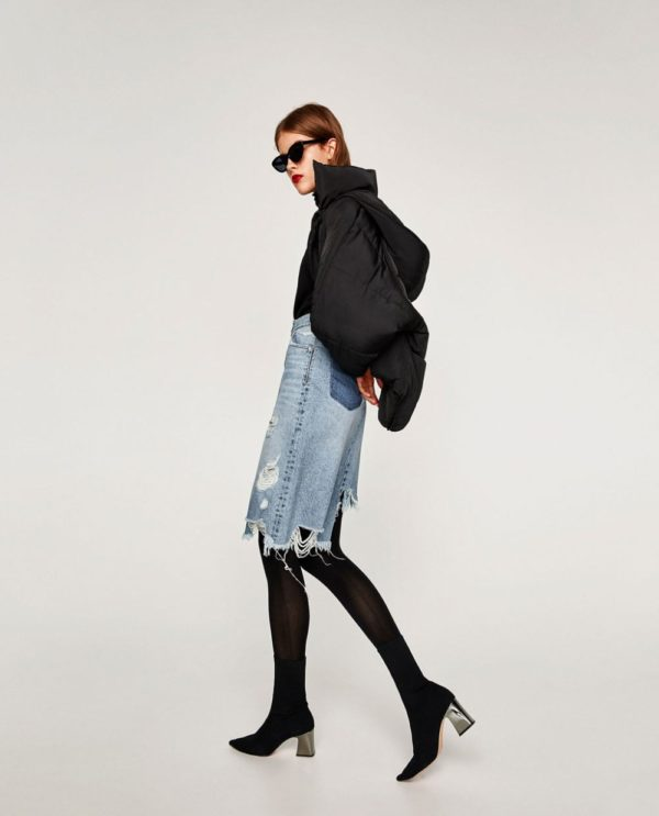 женские ботинки осень-зима 2019-2020: Черные
