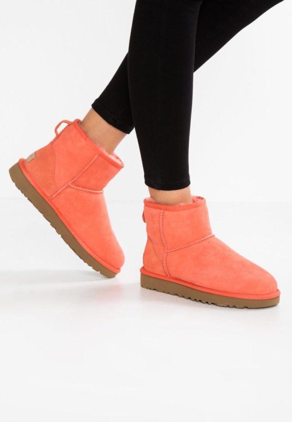 ботинки осень-зима 2019-2020: оранжевые