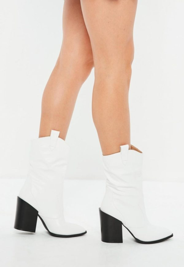 ботинки осень-зима 2019-2020: белые