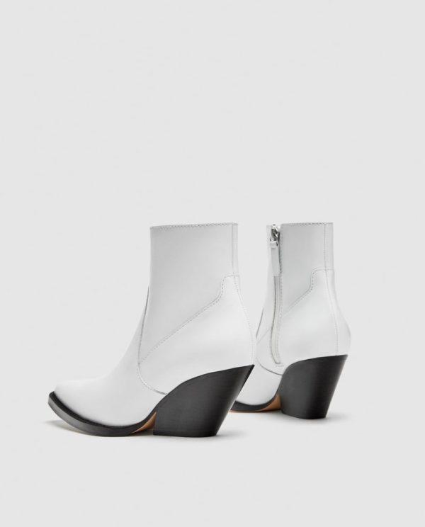 белые на каблуке
