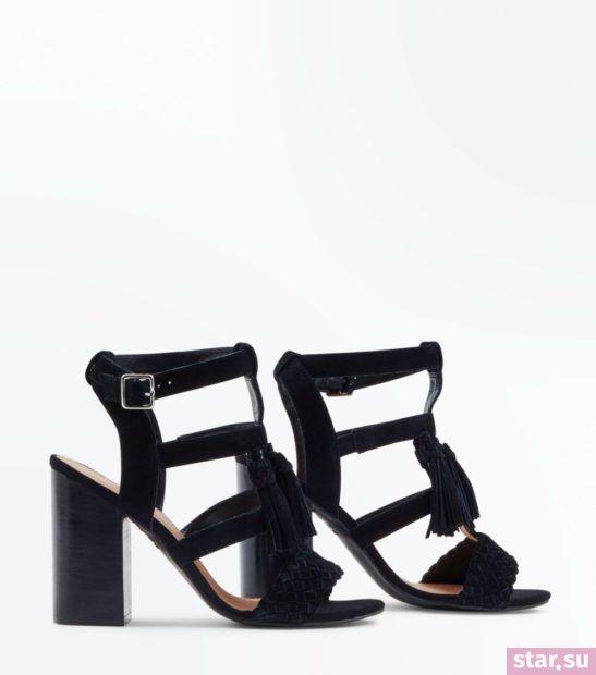 женская черная обувь весна лето 2018 года