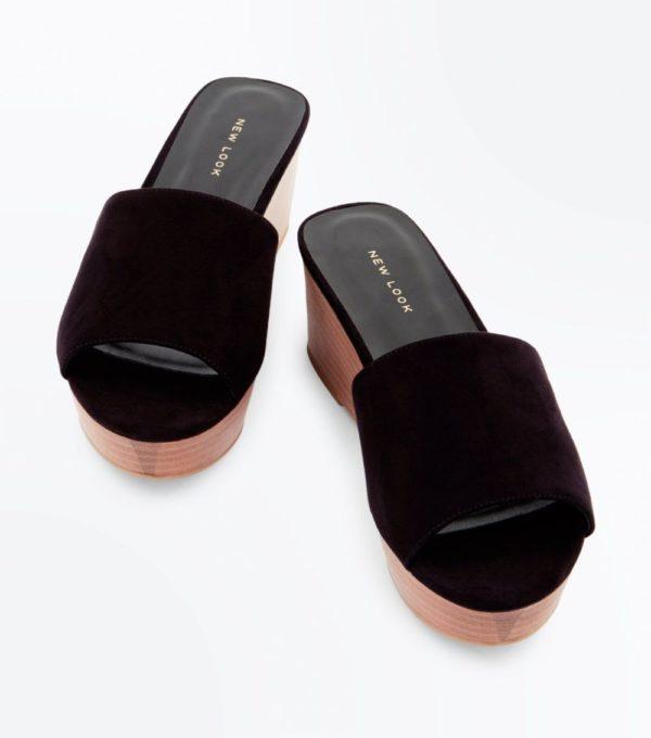 Модные тенденции весна лето 2019: женская черная обувь