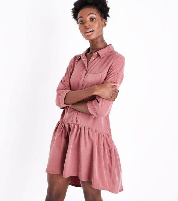 Модные тенденции весна лето: розовое платье