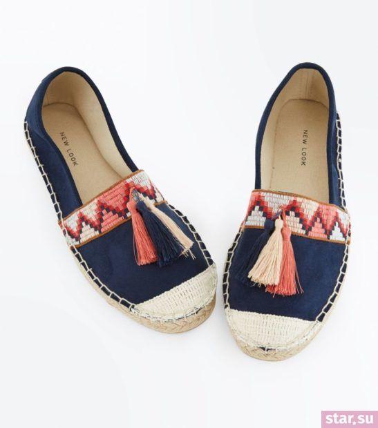 женская синяя обувь весна лето 2018 года