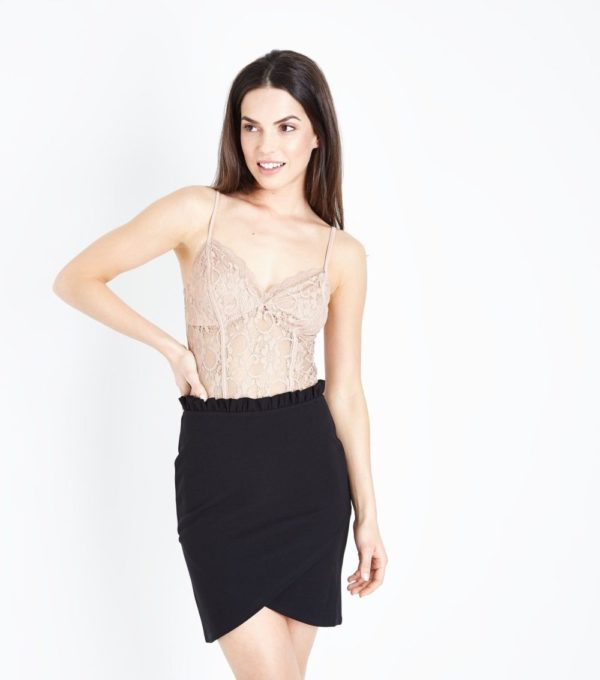 женская черная юбка весна лето 2019 года