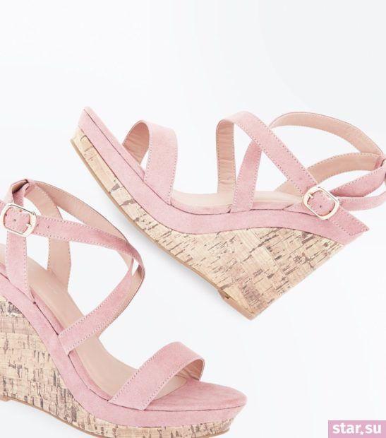 женская розовая обувь весна лето 2018 года