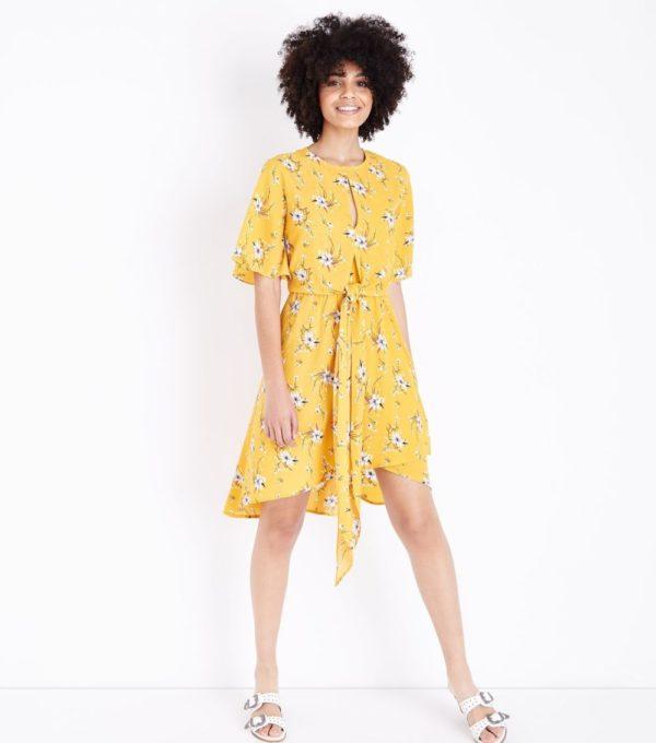 желтый образ весна лето 2019