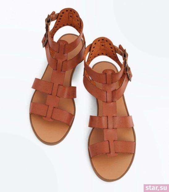 женская коричневая обувь весна лето 2018 года