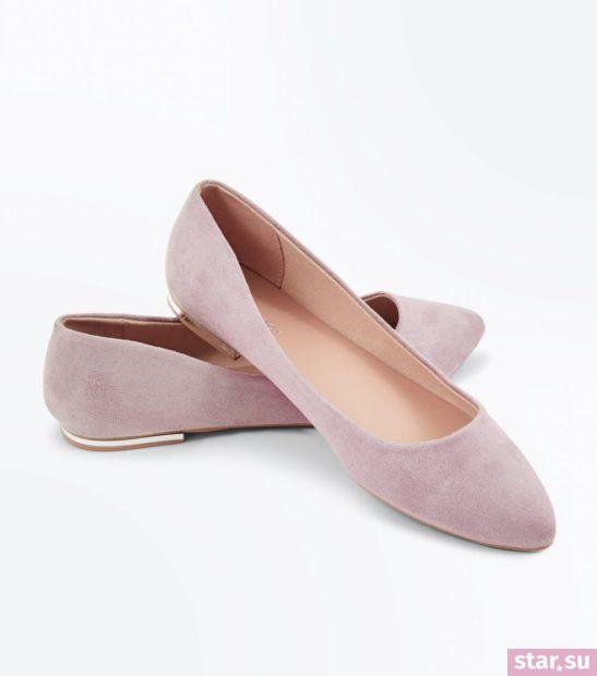 розовая обувь весна лето 2018 года