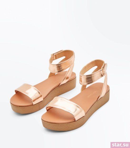 розовые сандали весна лето 2018 года