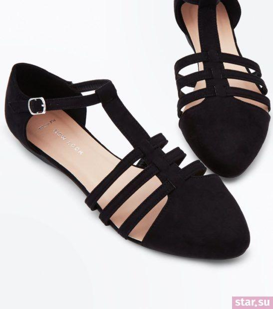 черные туфли весна лето 2018 года