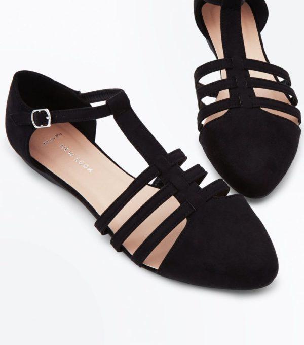 черные туфли весна лето 2019 года