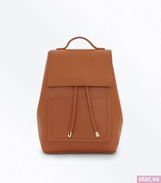 коричневая сумка весна лето 2018
